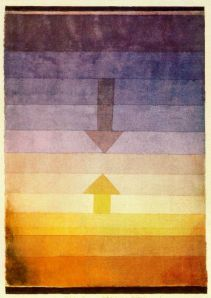 Paul Klee - Separation in the evening