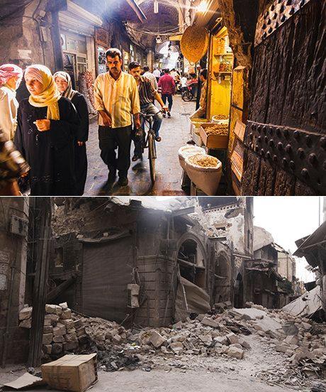 Σουκ Bab Antakya- στο Αλέππο